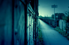 Walkway to your past Royalty Free Stock Images