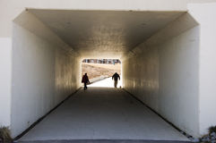 Walkway Tunnel Royalty Free Stock Photography