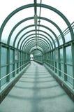 Walkway tunnel Royalty Free Stock Image
