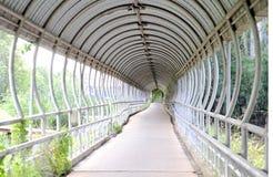 Walkway tunnel Stock Image