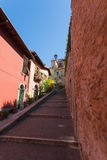 Walkway in Verona, Italy Royalty Free Stock Photography