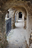 Walkway through the walls Royalty Free Stock Photography