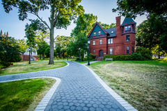 Walkways and the Allan K Smith Center for Writing and Rhetoric a stock images