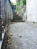 Walkways and steep steps in Royalty Free Stock Photo
