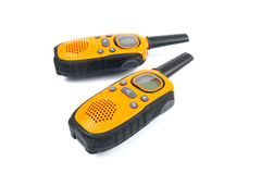 Walky talky. Isolated on white Stock Photography