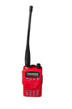Walky talky. Red walkie talkie for communication Stock Photography