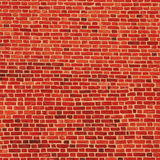 The wall. The red brick wall texture stock photo