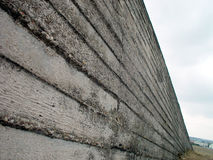 Wall. Concrete wall royalty free stock photography
