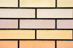 Wall. The red brick wall of a house Stock Images