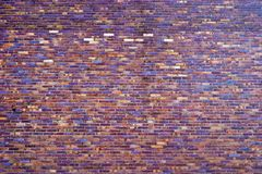 Wall. Wide angle view of an old wall abandoned factory building royalty free stock photos