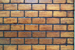 Wall. Texture of a outworn brick wall Stock Images