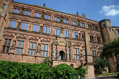 Wall. Of Heidelberg Castle Ruins Royalty Free Stock Photography