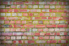 Wall. Brick wall as a background Stock Images