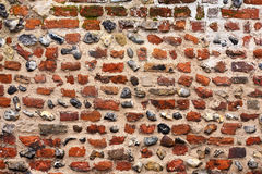 Wall. Brick wall as a background Royalty Free Stock Photos