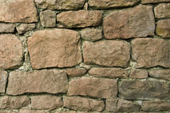 Wall. Old wall from nature stones Royalty Free Stock Photo