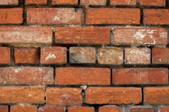 Wall. Aged brick wall by the time Royalty Free Stock Photography