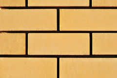 Wall. Background of yellow wall of the house Royalty Free Stock Photo