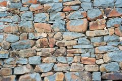 Wall. Rock wall stock photo