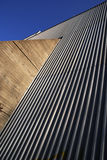 Wall. Of a power station in Finland royalty free stock images