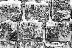 Wall. Of Jukkasj�rvi ice hotel near Kiruna in Lapland, Sweden Stock Photo