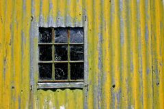 Wall. Corrugated iron wall Royalty Free Stock Images
