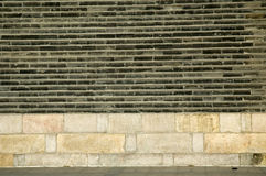 Wall. A part of wall in beijing china Royalty Free Stock Image