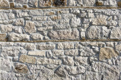 Wall. Solid white stone wall texture Royalty Free Stock Photos