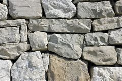 Wall. Stone wall. Wall stone background Stock Images