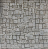 Wall 5. Tile cladded stone wall texture architectural background royalty free stock images