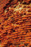 The wall. Old brick wall Stock Photography