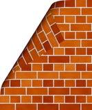 Wall. The abstract image of a brick wall Stock Photo