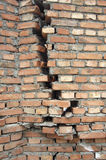 Wall. Destroyed wall royalty free stock photography