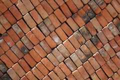 Wall of Adobe Bricks Stock Image