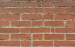 Wall of Aged painted brickwork Royalty Free Stock Photo