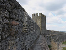 Wall of Akkerman fortress Royalty Free Stock Images