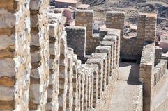 Wall of Albarracin,Teruel, Spain Royalty Free Stock Photography