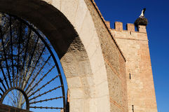 Wall of Alcala de Henares - Spain Stock Image