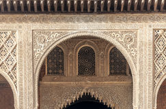 Wall of the Alhambra Royalty Free Stock Images