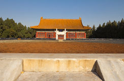 The wall, Altar of Earth and Harvests. Altar of Earth and Harvests,  which was built in 1421 by the Yongle Emperor, and it symmetrically opposite the Imperial Stock Image