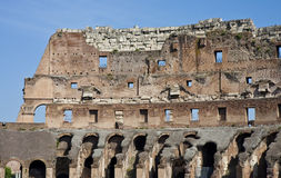 Wall of Ancient Coliseum Royalty Free Stock Photos