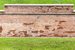 Wall of an ancient fortress Royalty Free Stock Photography
