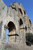 Wall of aquaduct Royalty Free Stock Photo