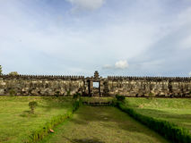 Wall Around Ratu Boko Palace. The Collection of The Beauty Around Java and Bali Island. Holiday Vibes Royalty Free Stock Image