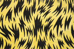 Wall art for background, Yellow and black color Royalty Free Stock Photos