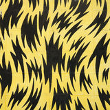 Wall art for background, Yellow and black color Stock Photo