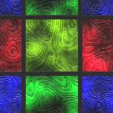Abstract- hot stained glass. Wall art- nature. Stained glass- abstract pattern. Art decor- metal grille Royalty Free Stock Image