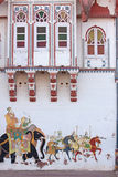 Wall Art in Rajasthan Royalty Free Stock Photo