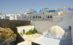 Wall of Asilah Royalty Free Stock Photos