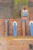 Wall of Assumption NMP and Holly Andrzej Cathedral Royalty Free Stock Photography