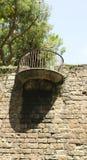 The Wall Atarazanas balcony with gazebo Royalty Free Stock Photo